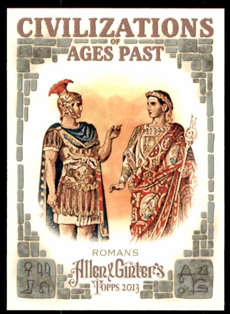 2013 Topps Allen And Ginter Civilizations Of Ages Past Romans #ROM card front image