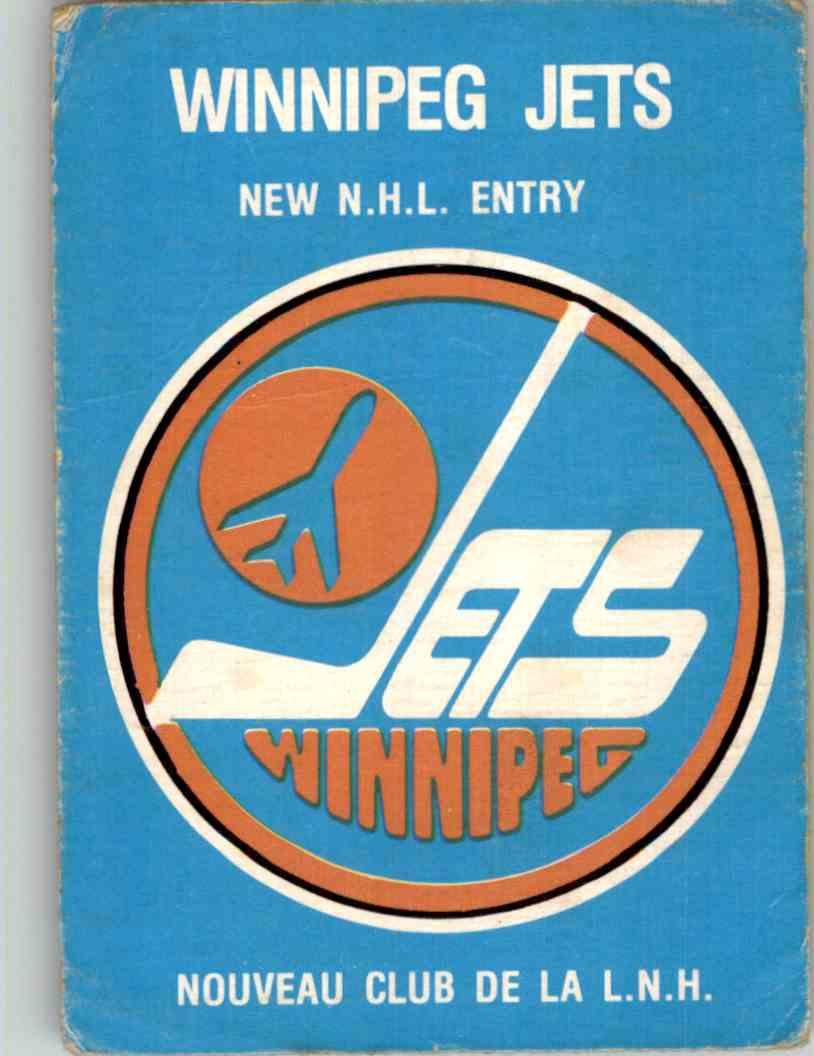 1979-80 O-Pee-Chee Winnipeg Jets Logo #81 card front image
