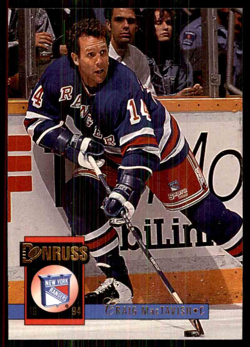 1993-94 Donruss Craig MacTavish #462 card front image