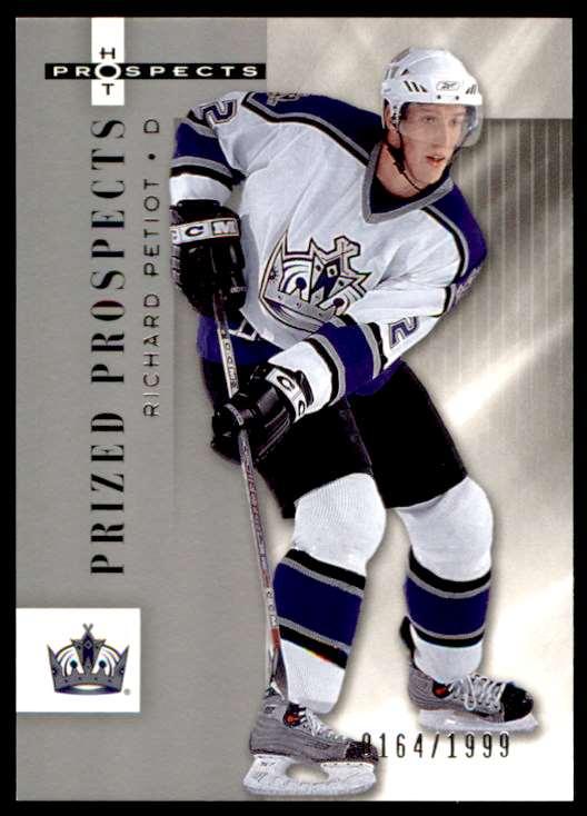 2006-07 Fleer Hot Prospects Richard Petiot #141 card front image
