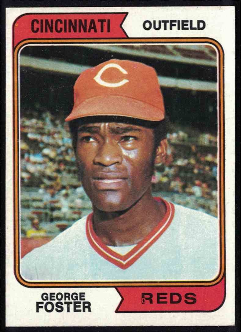 1974 Topps George Foster NM-MT #646 card front image