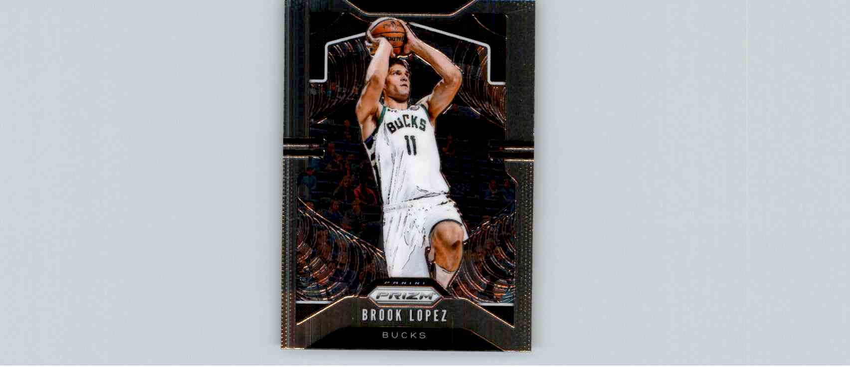 2019-20 Panini Prizm Basketball Prizm Brook Lopez #234 card front image