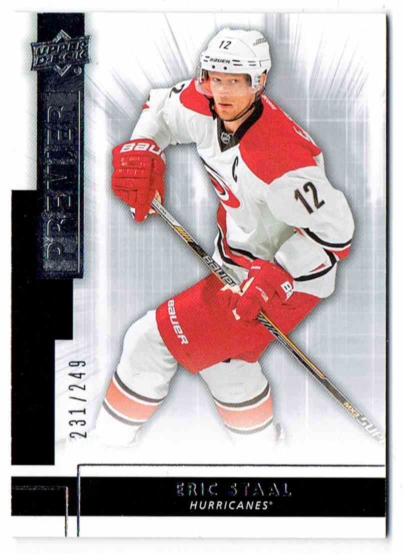2014-15 Upper Deck Premier Eric Staal #24 card front image