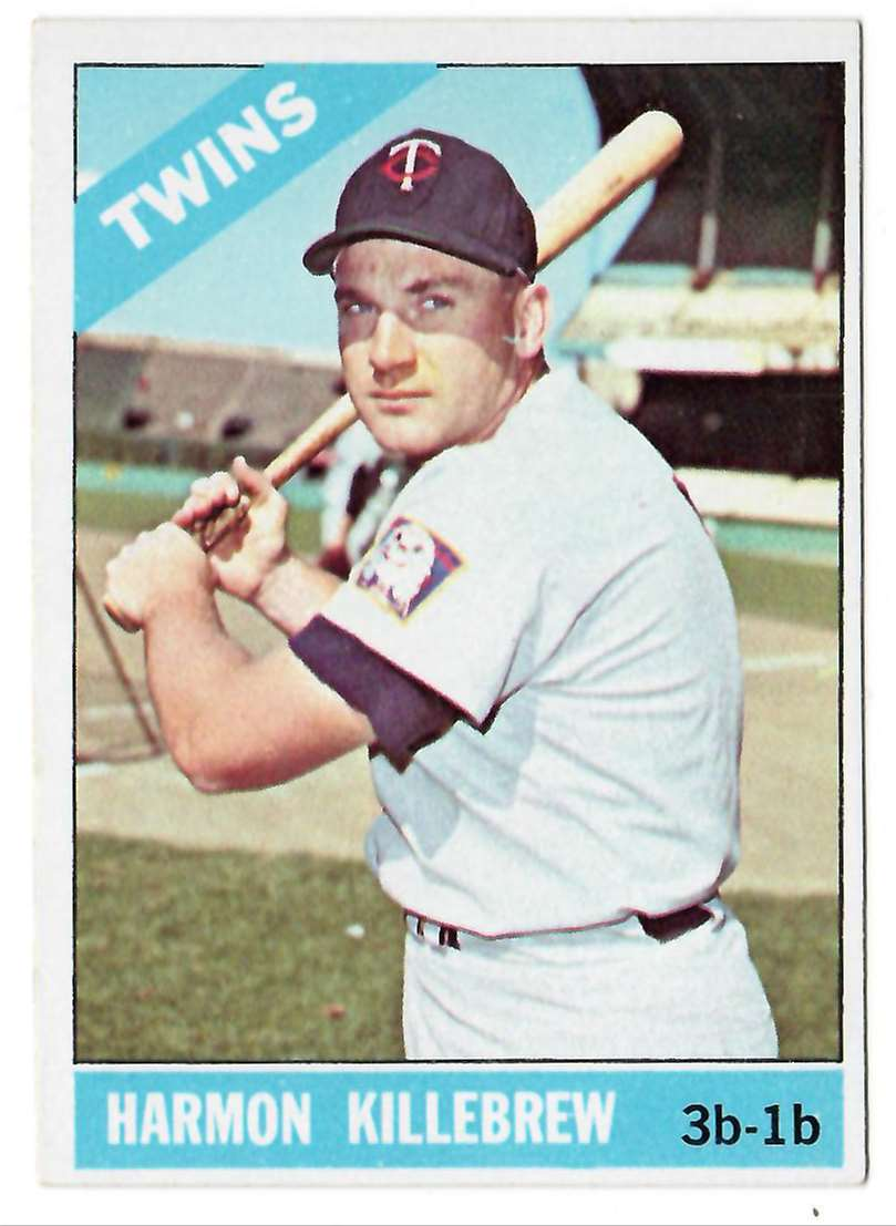 1966 Topps Harmon Killbrew #120 card front image