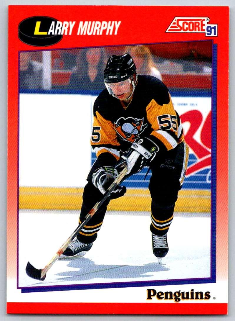 1991-92 Score Canadian Bilingual Larry Murphy #31 card front image