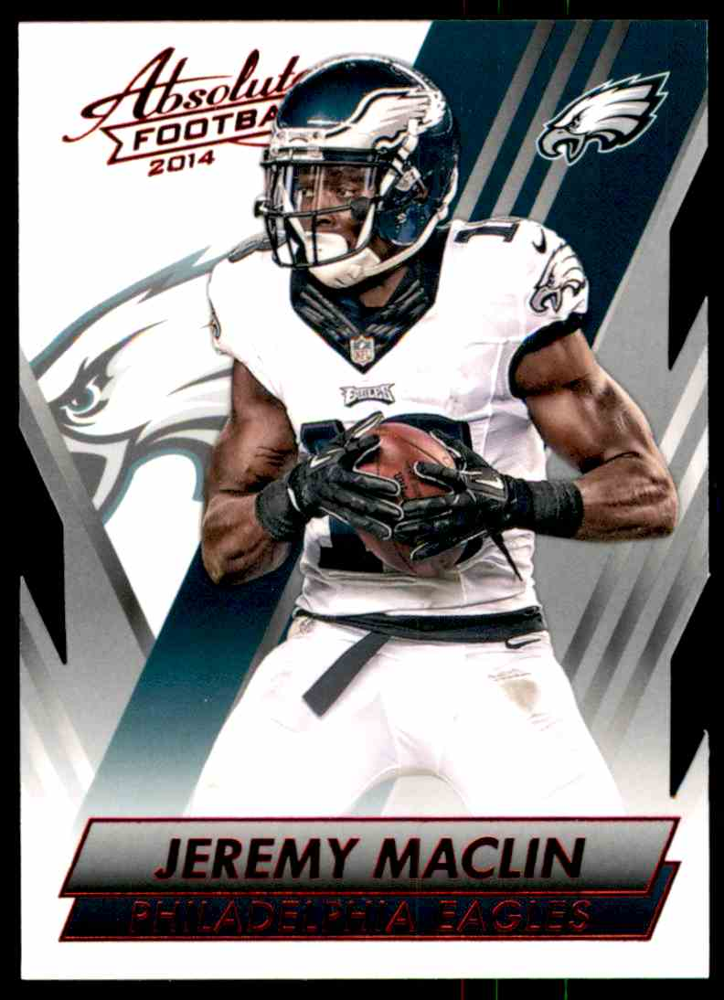 2014 Absolute Retail Red Jeremy Maclin #93 card front image
