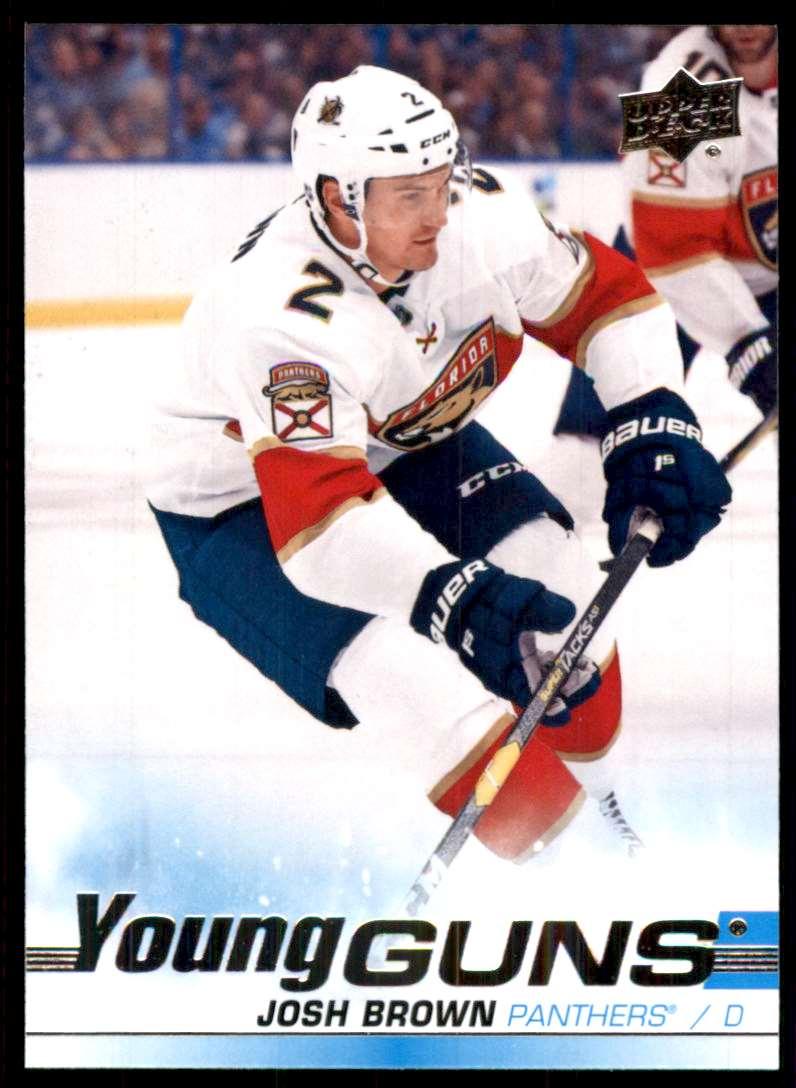 2019-20 Upper Deck Josh Brown Yg RC #247 card front image
