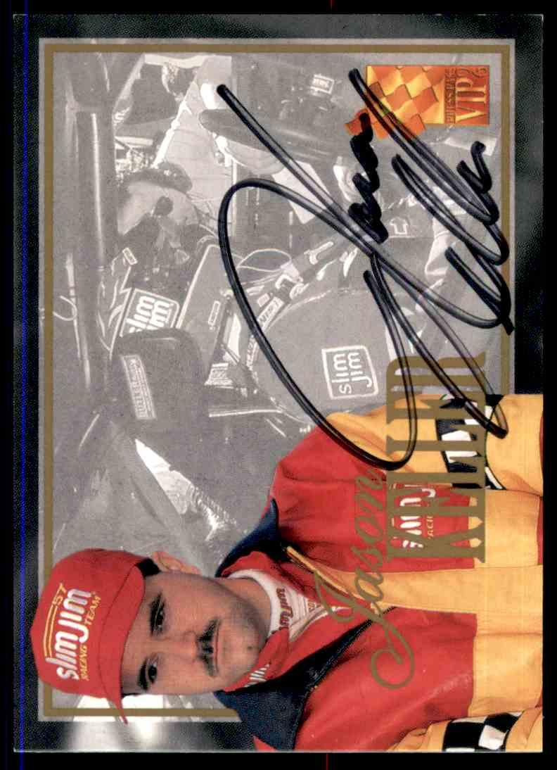 1996 Press Pass Vip Jason Keller card front image