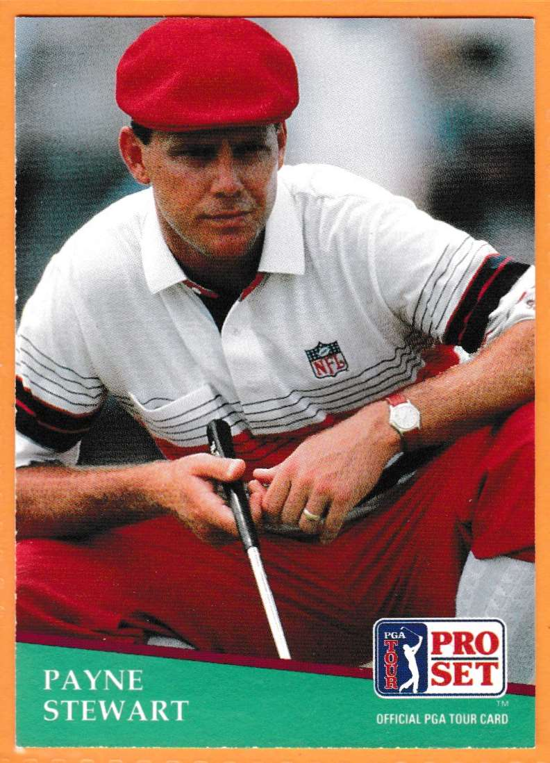 1990 Pro Set Golf 1990 PGA Tour Payne Stewart #103 card front image