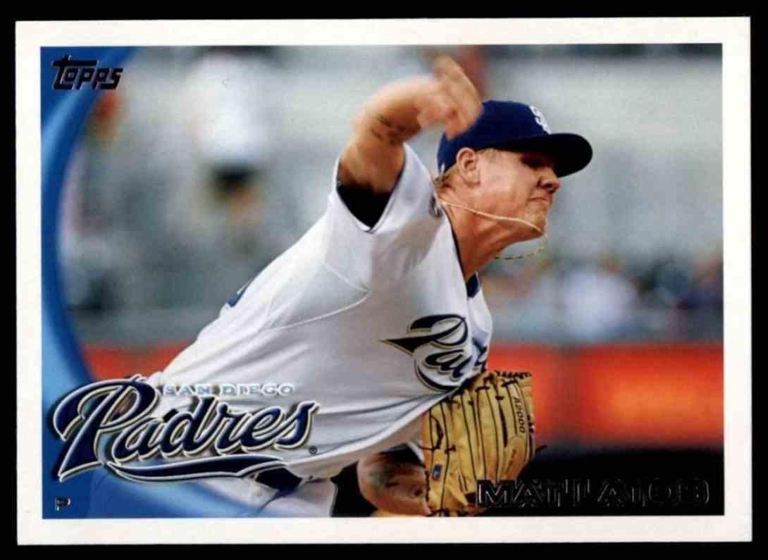 2010 Topps Mat Latos #191 card front image