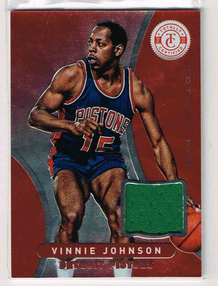 2012 13 Totally Certified Red Vinnie Johnson 177 on Kronozio