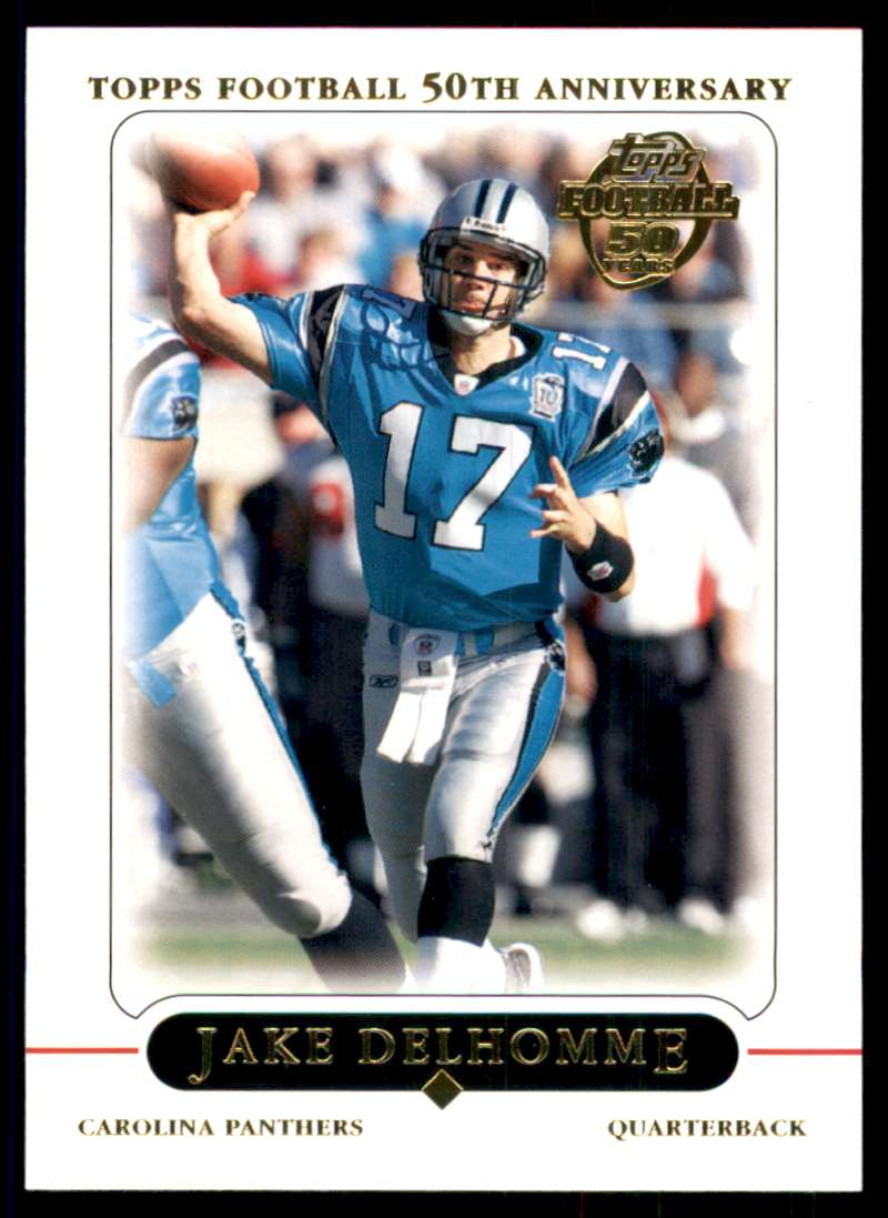 2005 Topps Jake Delhomme #65 card front image