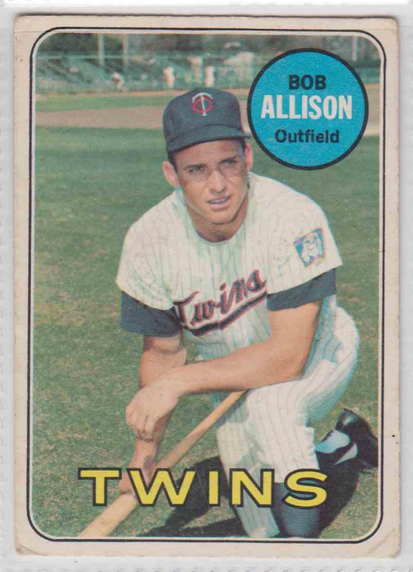 Image result for bob allison 1969 baseball card imagebob allison