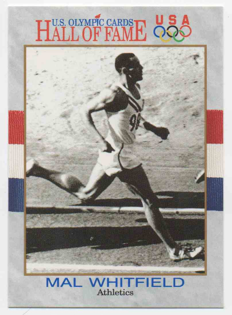 1991 Impel U.S. Olympic Hall Of Fame Malvin Whitfield #39 card front image