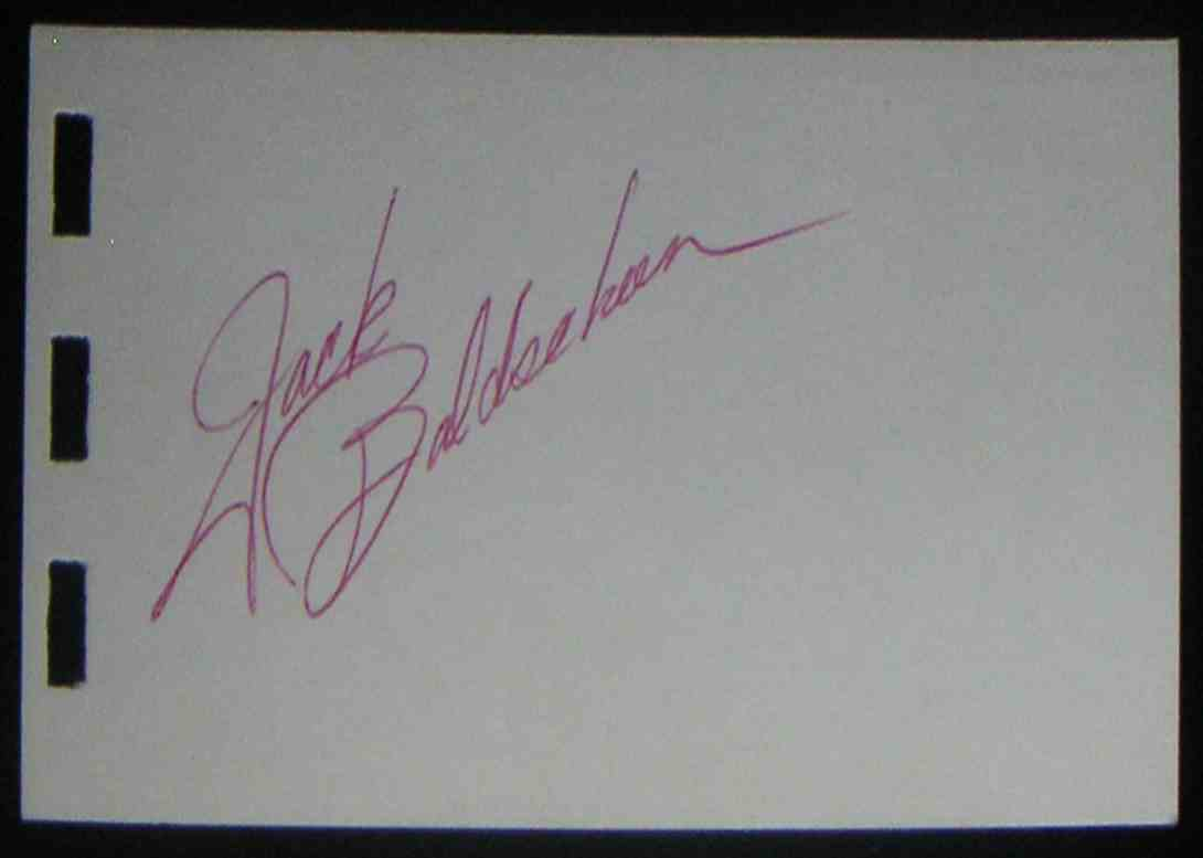 1961 Small Album Pg Jack Baldschun card front image