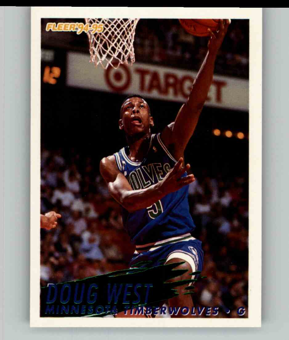 1994-95 Fleer Doug West #137 card front image