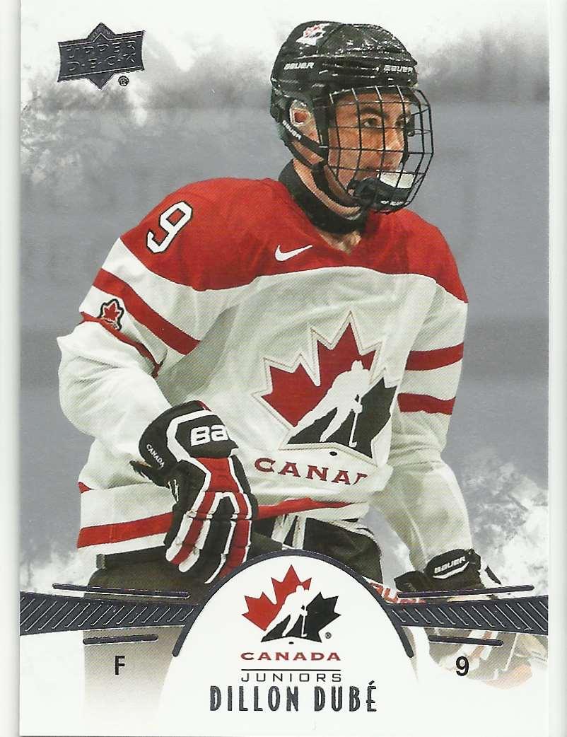 2016-17 Upper Deck Team Canada Juniors Dillon Dube #57 card front image