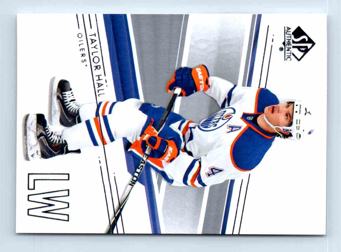 2014-15 SP Authentic Taylor Hall #42 card front image
