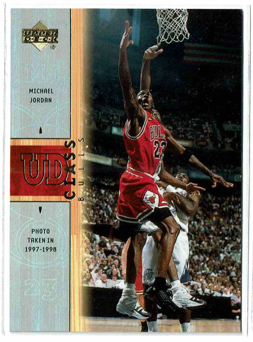 2001-02 Upper Deck UD Class Michael Jordan #C1 card front image