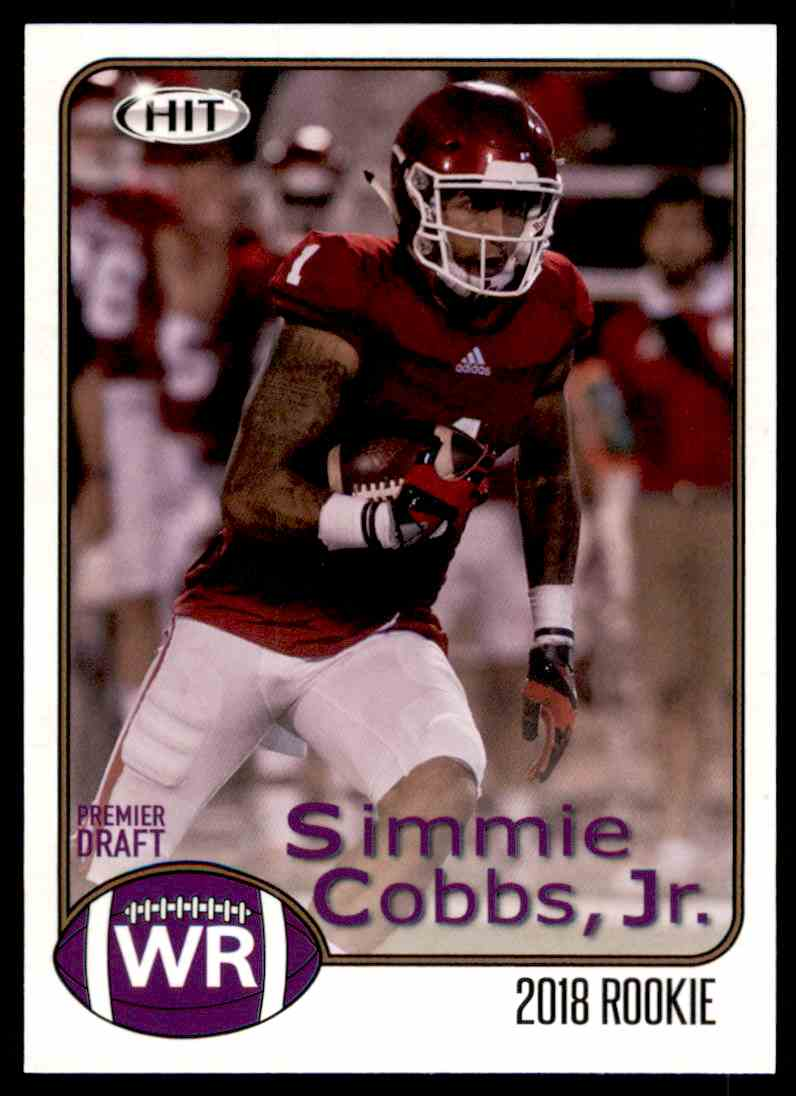 on sale 7f3c9 c6d76 2018 Sage Hit Simmie Cobbs JR. #75 on Kronozio