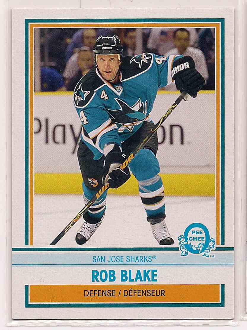2009-10 0-Pee-Chee Retro Rob Blake #477 card front image