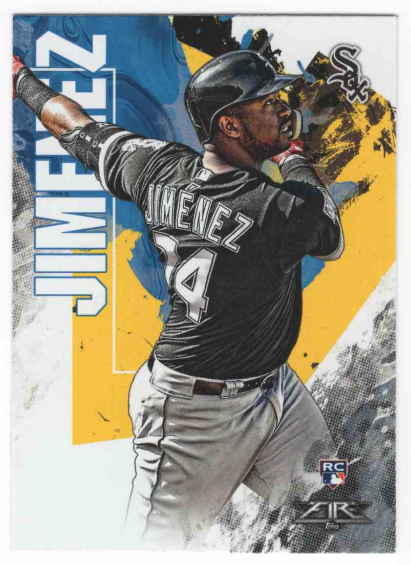 2019 Topps Fire Eloy Jimenez #168 card front image