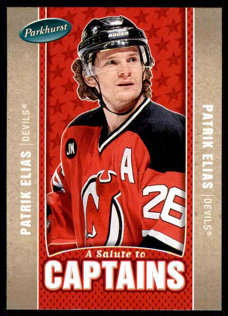 2005-06 Parkhurst Patrik Elias #530 card front image