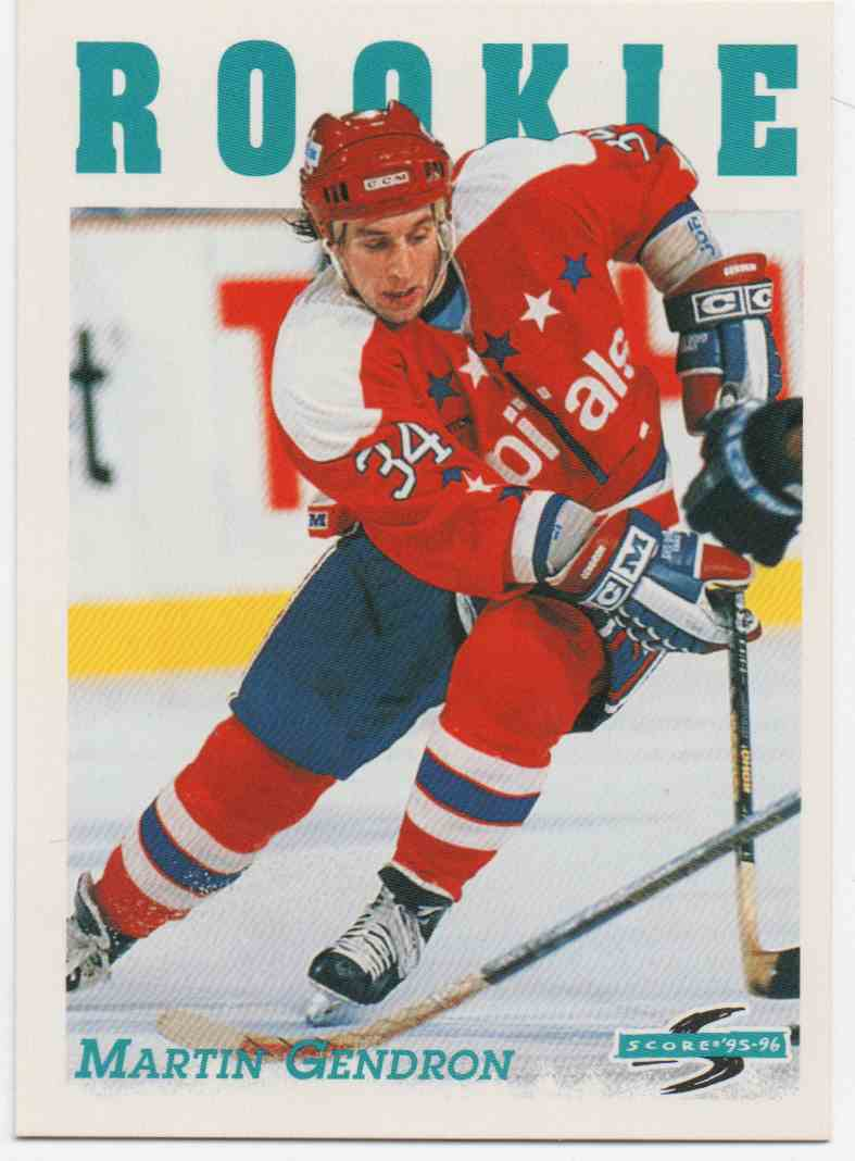 1995-96 Score Martin Gendron #315 card front image