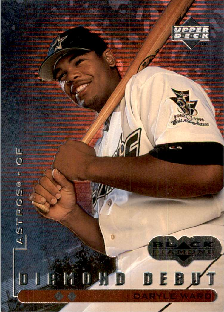 1999 Black Diamond Double Daryle Ward DD #103 card front image