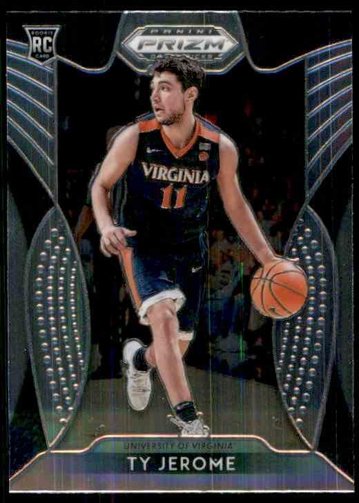 2019-20 Panini Prizm Draft Picks Ty Jerome #24 card front image