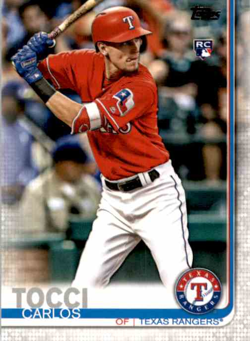 2019 Topps Carlos Tocci #649 card front image