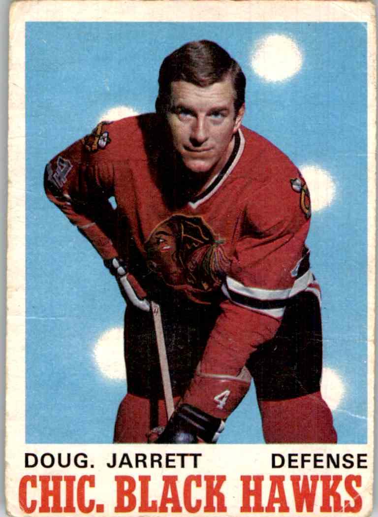 1970-71 O-Pee-Chee Doug Jarrett #150 card front image