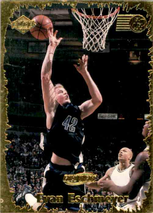 1999-00 Collector's Edge Rookie Rage Gold Evan Eschmeyer #RR15 card front image