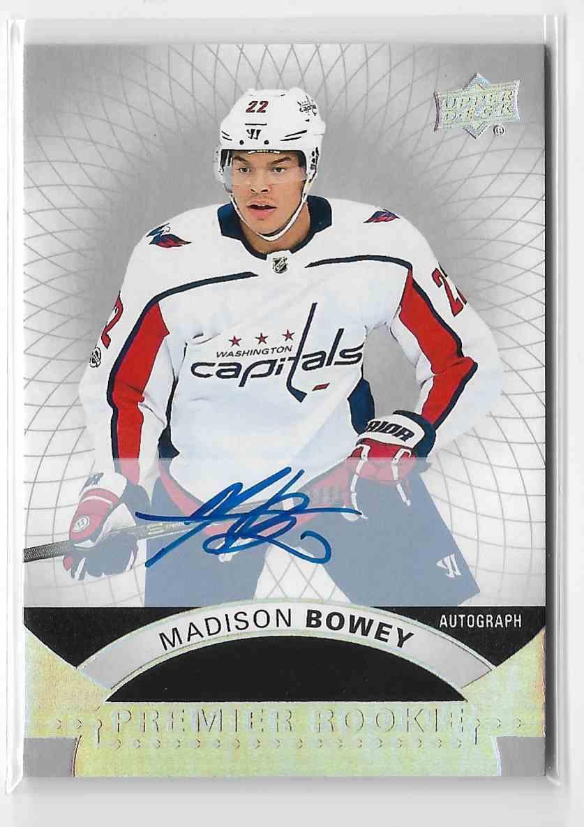 2017-18 Upper Deck Premier Madison Bowey #64 card front image