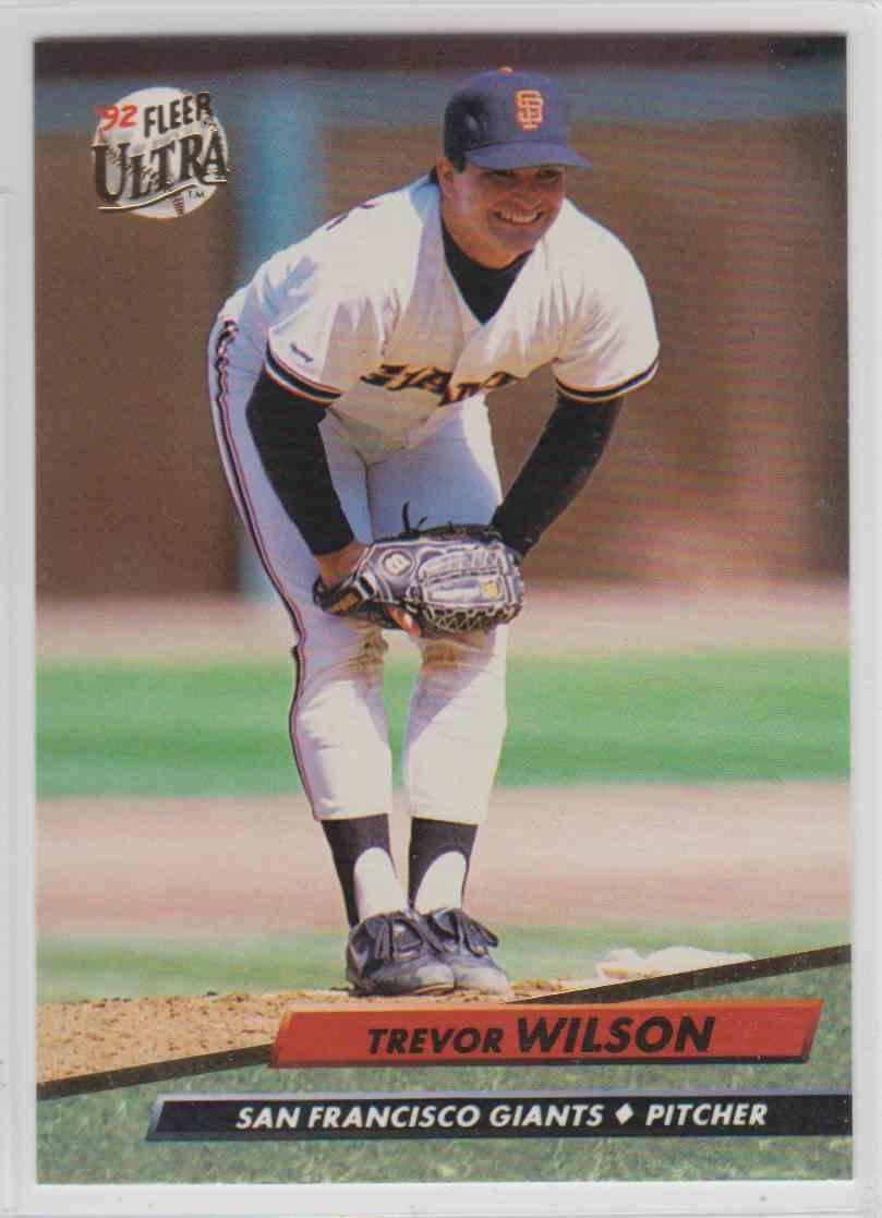 1992 Fleer Ultra Trevor Wilson 297 On Kronozio