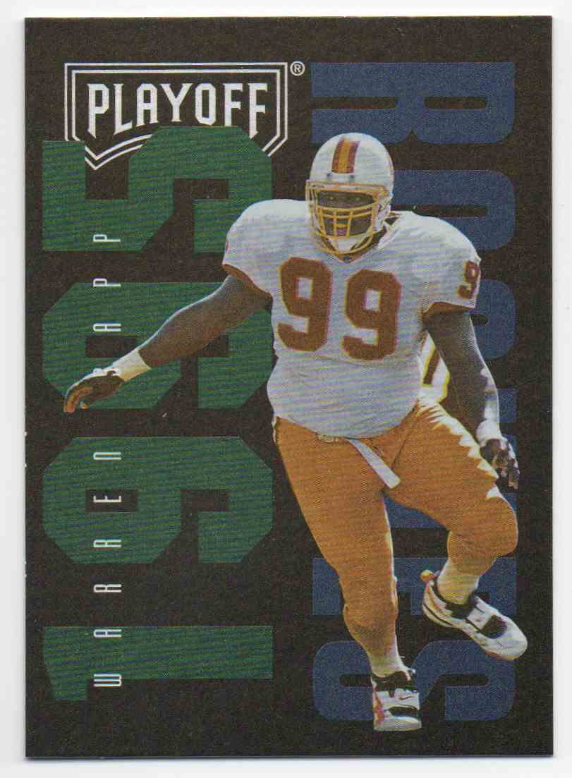 1995 Playoff Contenders Warren Sapp #148 card front image