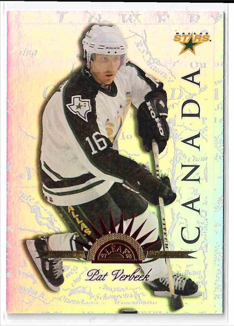 1997-98 Leaf International Universal Ice Pat Verbeek #78 card front image