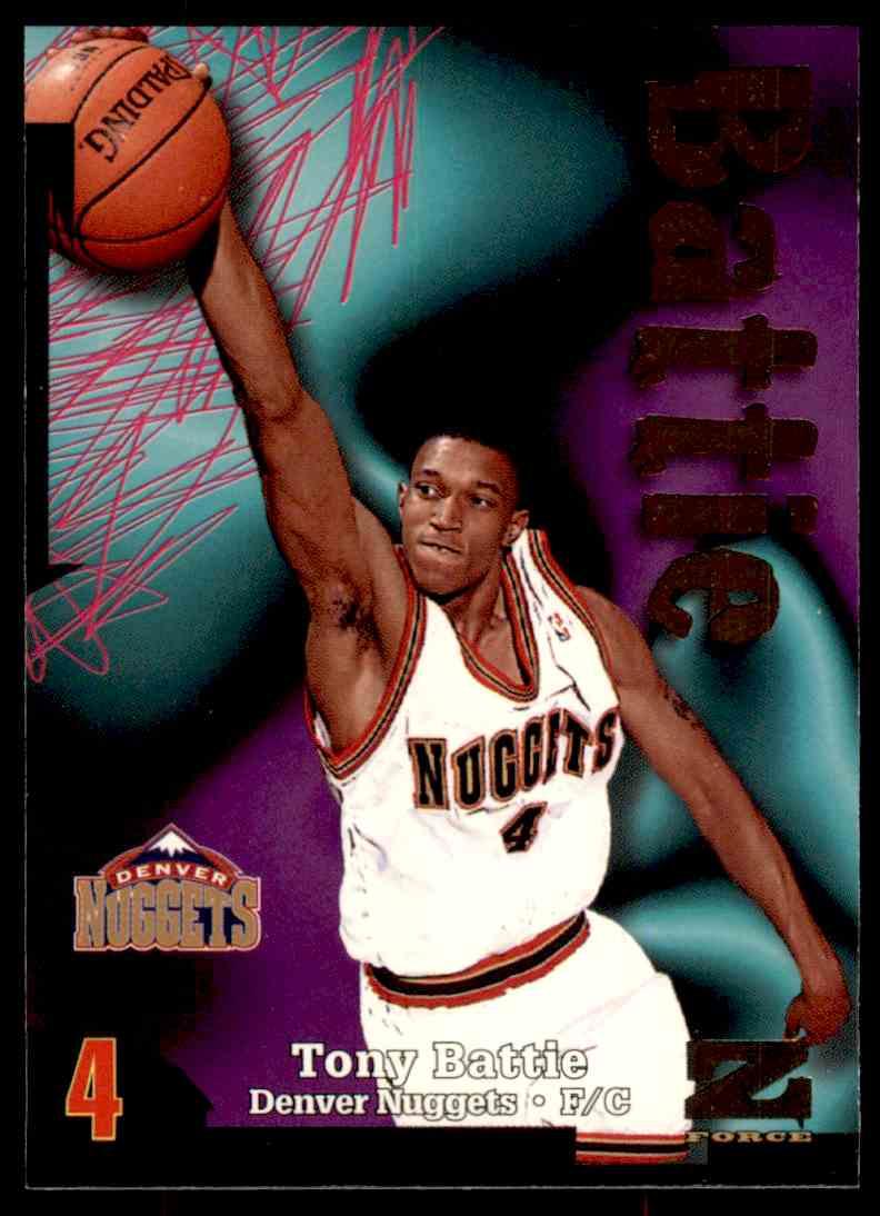 1997-98 Skybox Z Force Tony Battie #147 card front image