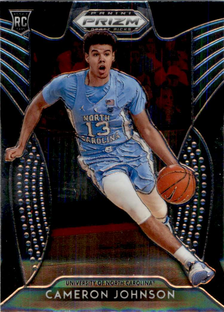 2019-20 Panini Prizm Draft Picks Base (A) Cameron Johnson #76 card front image