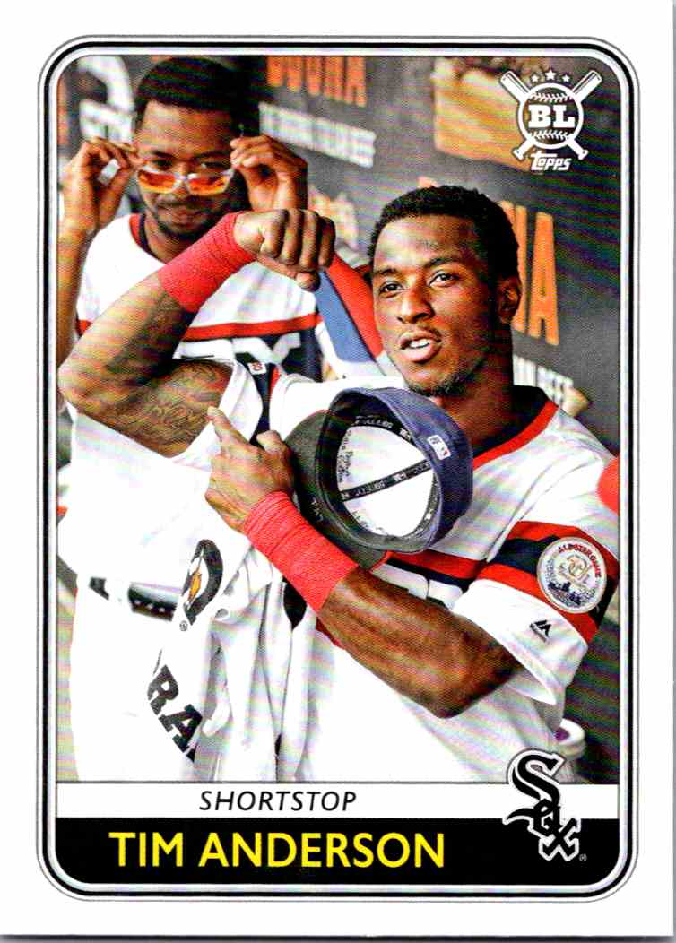 2020 Topps Big League Baseball Tim Anderson #211 card front image