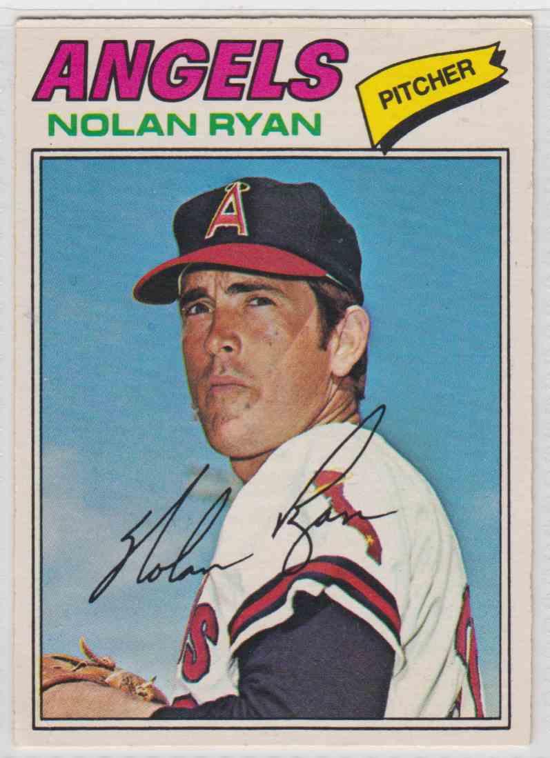 1977 O Pee Chee Nolan Ryan 65 On Kronozio