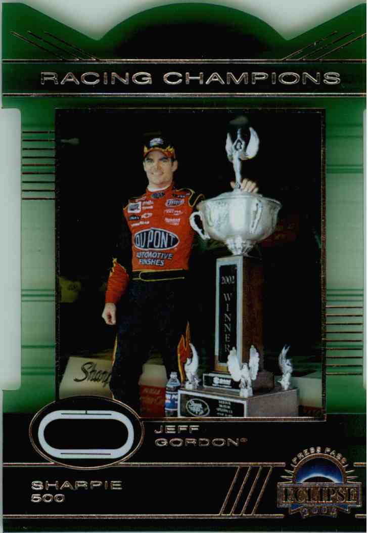 2003 Press Pass Eclipse Racing Champions Jeff Gordon #RC25 card front image
