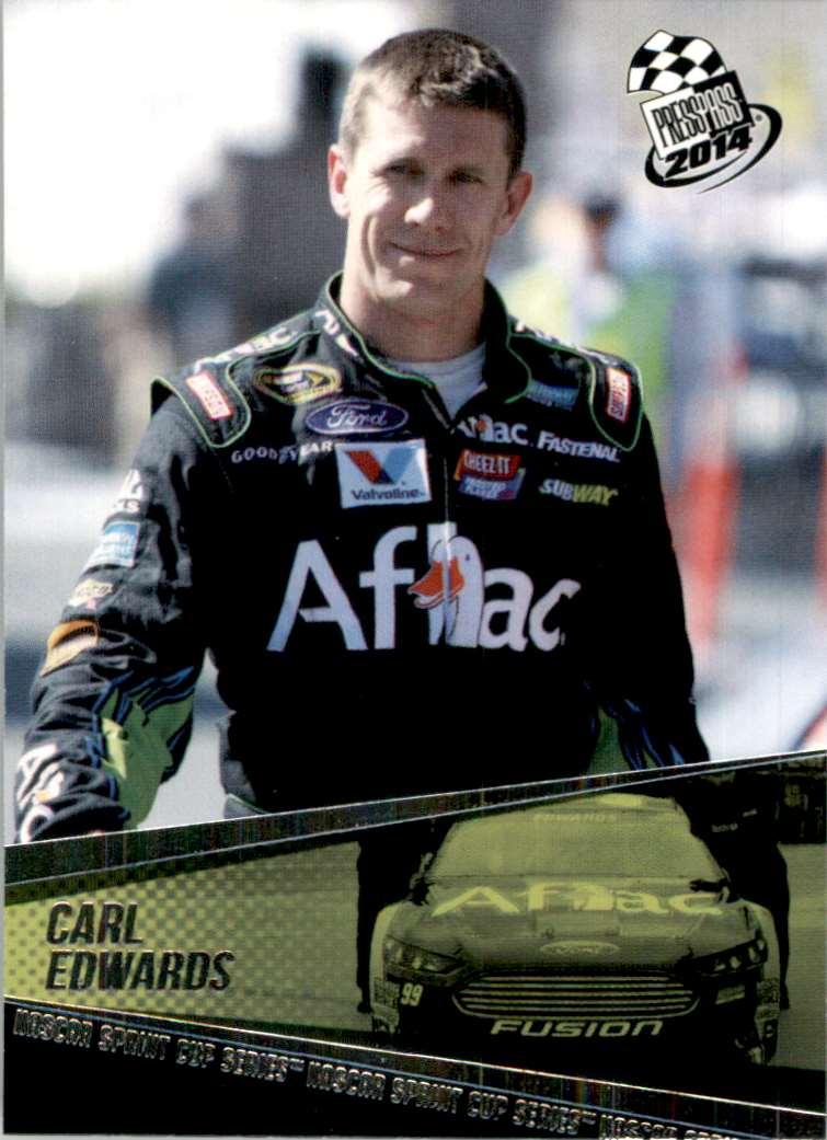 2014 Press Pass Carl Edwards #10 card front image