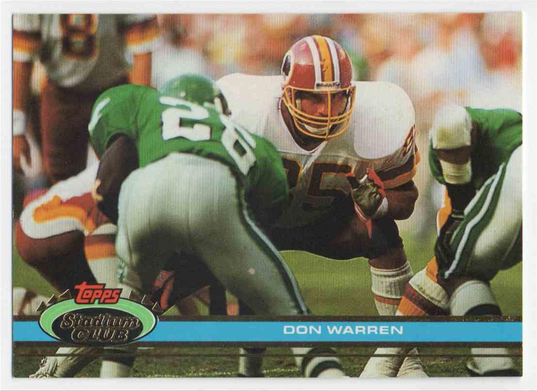 1991 Stadium Club Don Warren #29 card front image