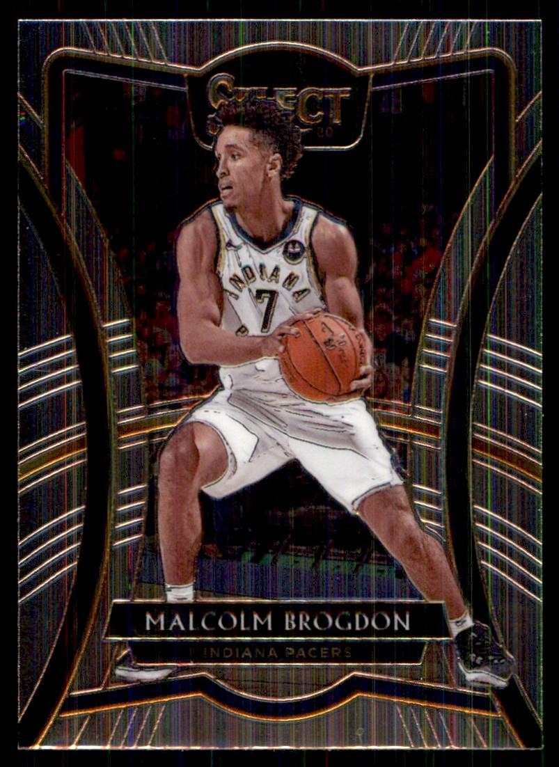 2019-20 Panini Select Malcolm Brogdon #115 card front image