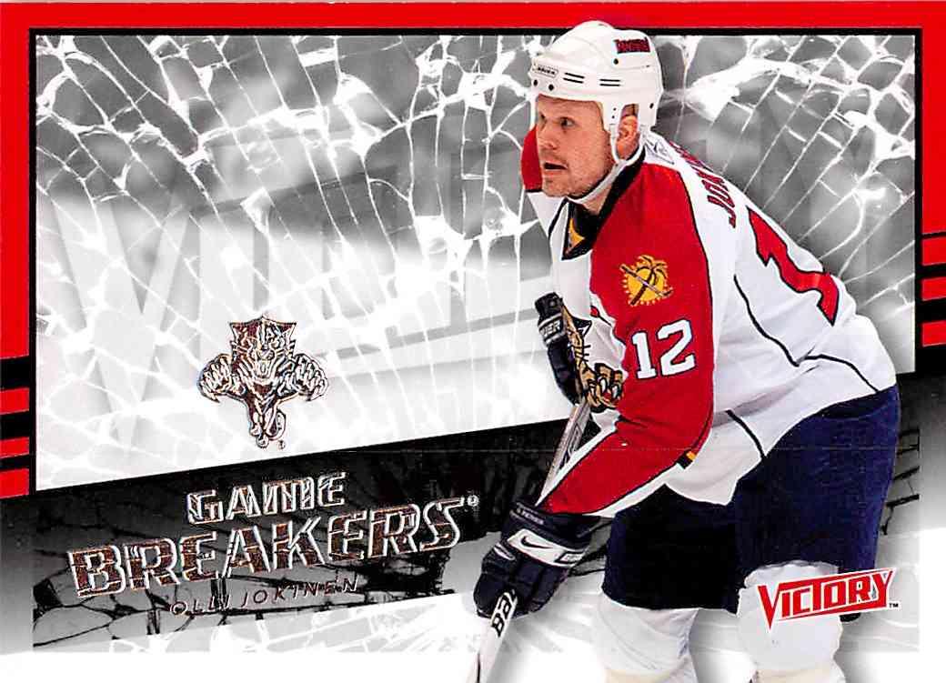 2008-09 Upper Deck Victory Olli Jokinen #GB-8 card front image