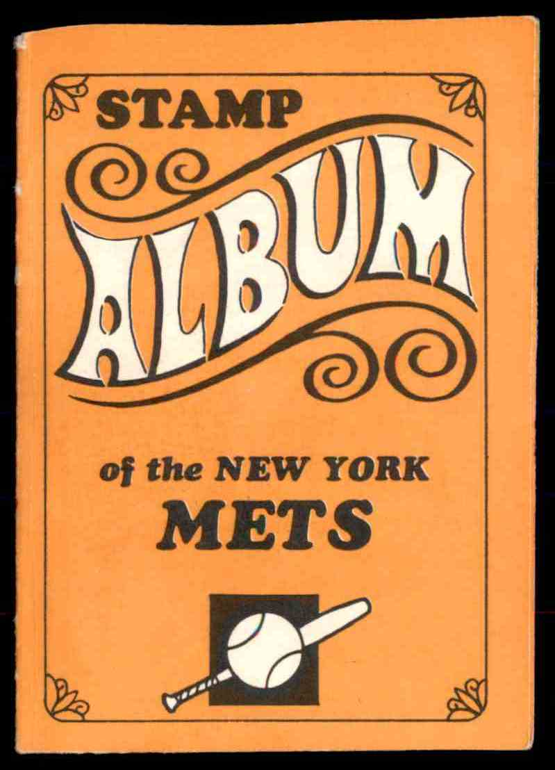 1969 Topps Stamp Albums New York Mets (with Harrelson