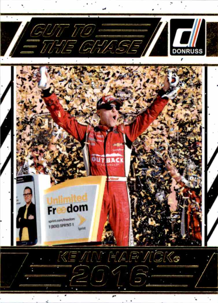 2017 Panini Donruss Racing Kevin Harvick #CC5 card front image