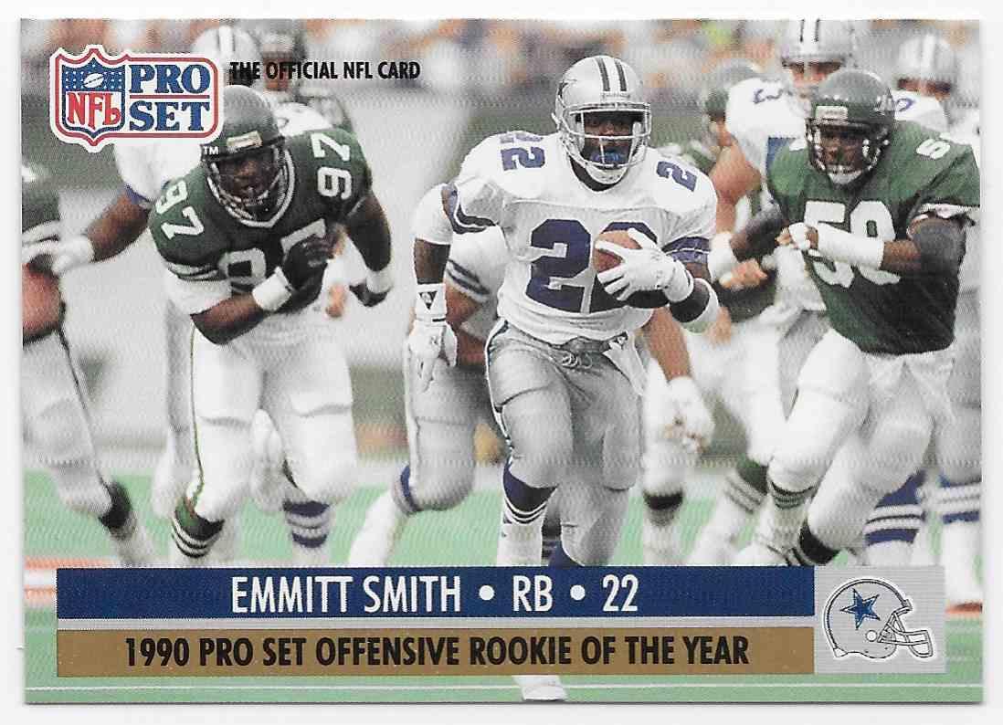 1990 Pro Set Emmitt Smith 800 On Kronozio