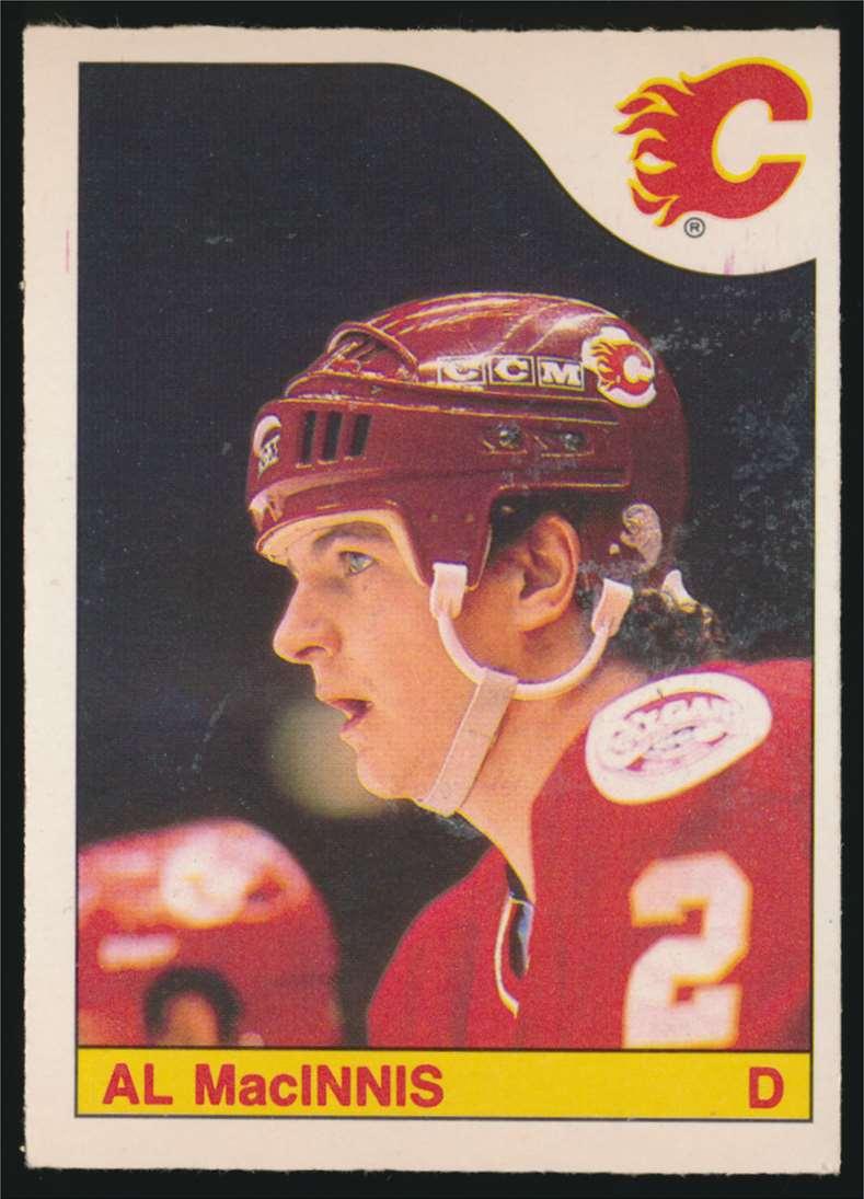 1985-86 OPC Al MacInnis #237 card front image